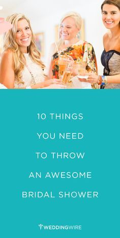 how to throw a bridal shower thats seriously glam