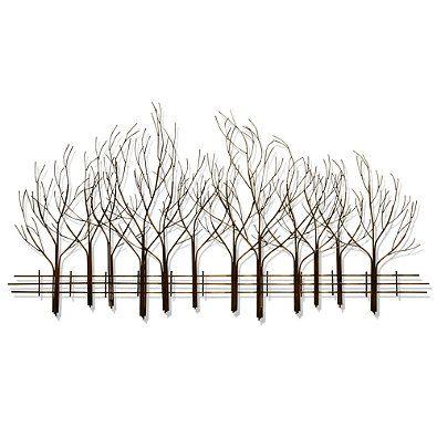 B J Keith Metal Forest Wall Art Metal Tree Metal Tree Wall Art Forest Wall Art