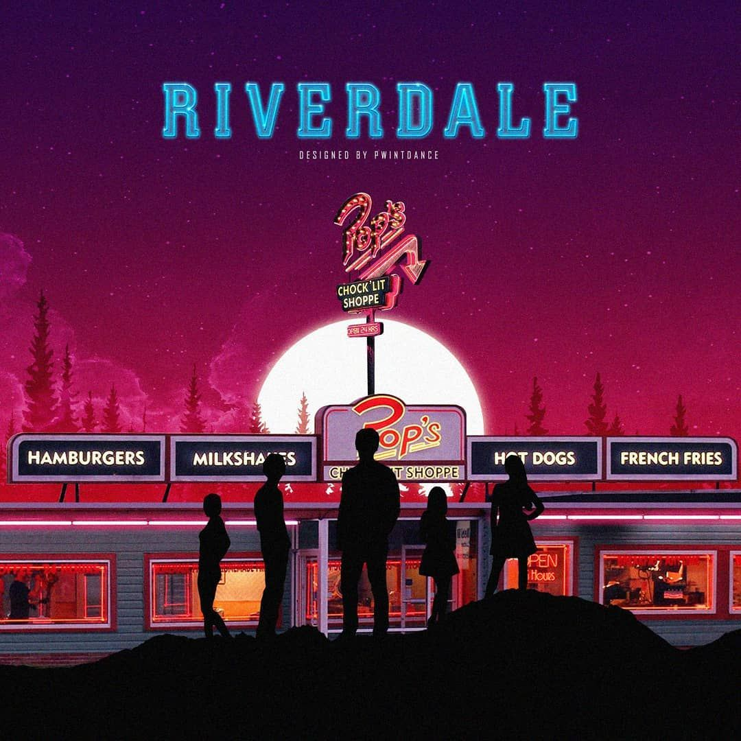 Riverdale Is An American Mystery Drama Television Series The Characters Are Based On Archies Comics A Series Of E Riverdale Poster Riverdale Riverdale Archie