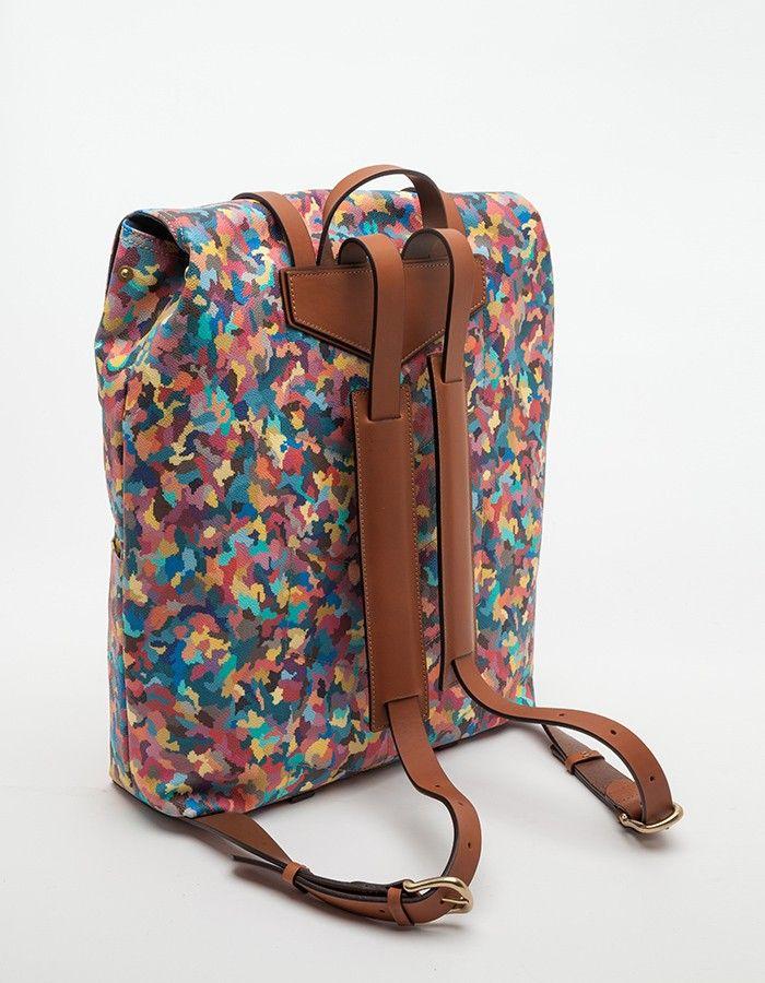 M/S Backpack Painters Camo DETAILS DE MONTAGE