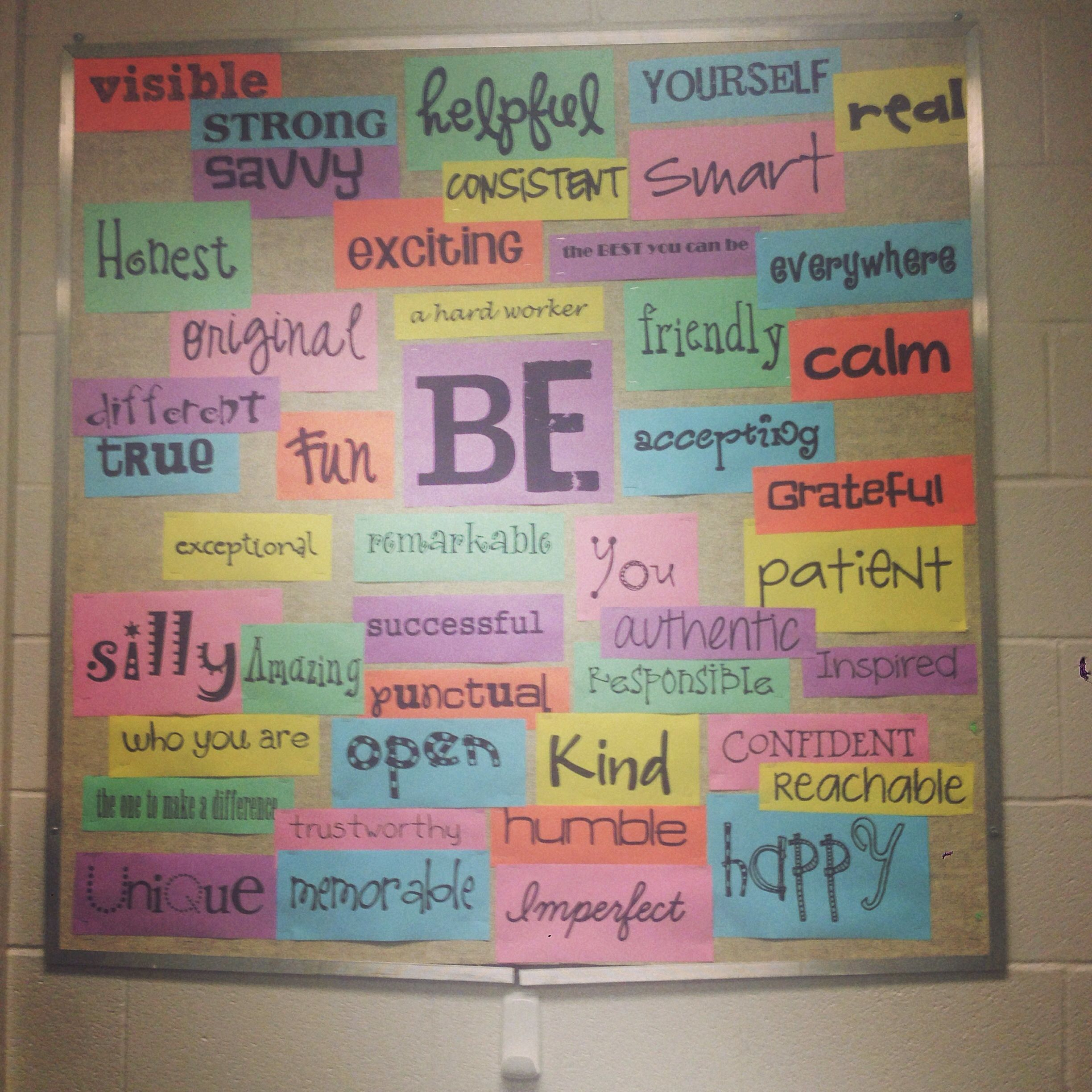 Bulletin Board Crafts 've School Social