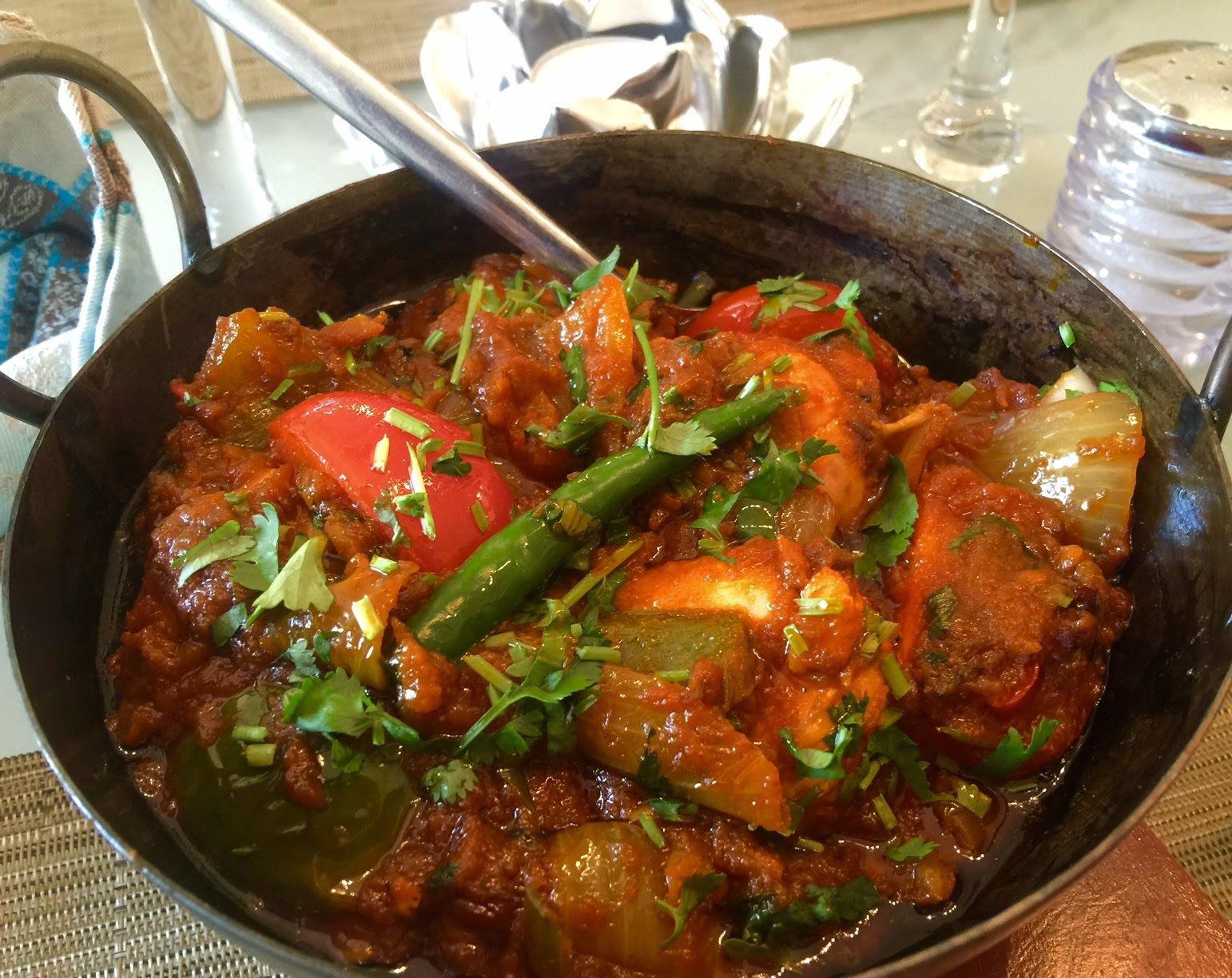 This jalfrezi curry is an intense flavoursome addition to