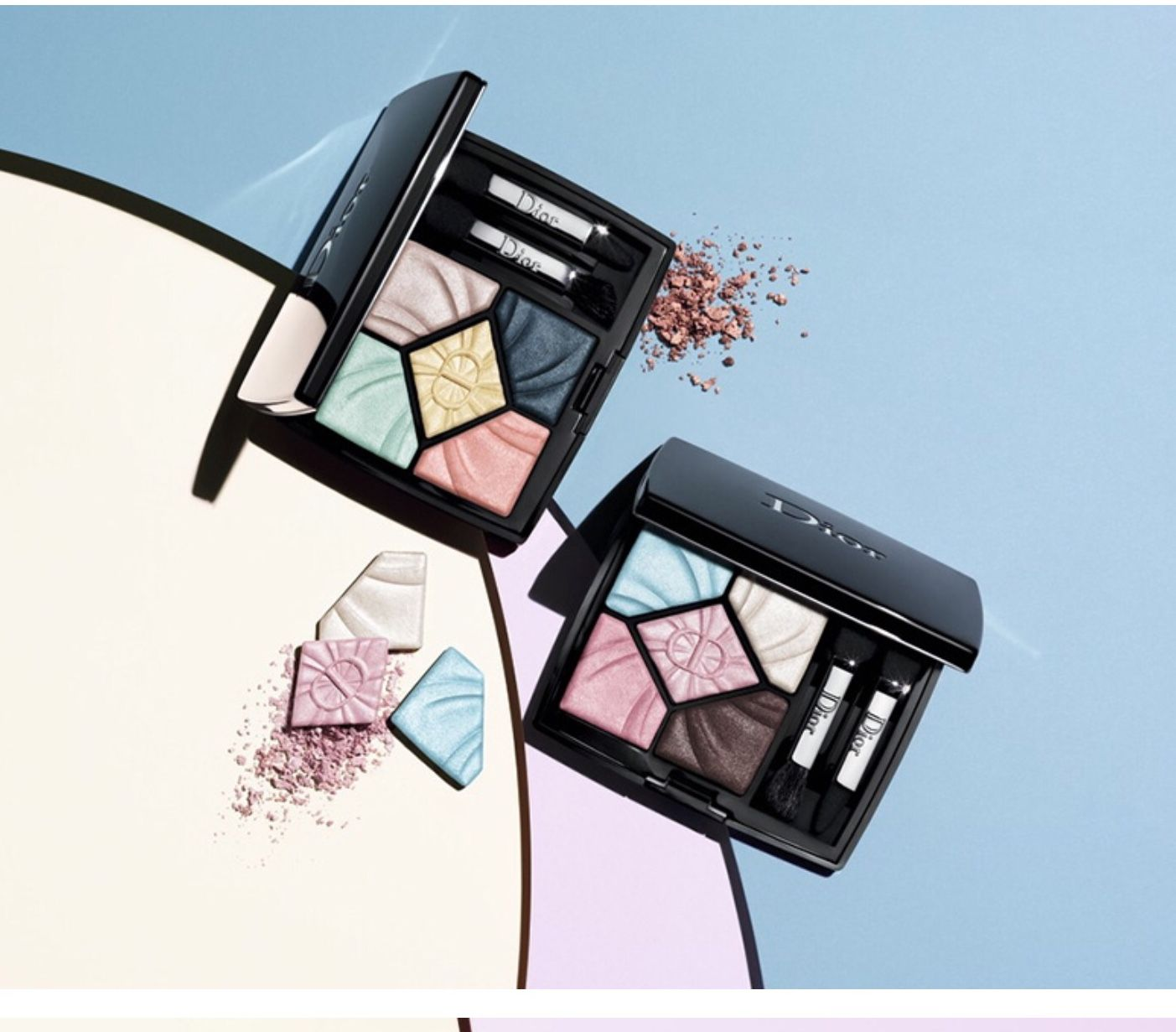 Dior Spring 2019 Eyeshadow Palettes With Images Makeup