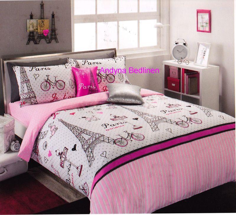Paris Bedroom Decor Teenagers Bedroom Design Pakistan Black Bedroom Bench Jurassic World Bedroom Ideas: Pink And Black Paris Teen Bedding