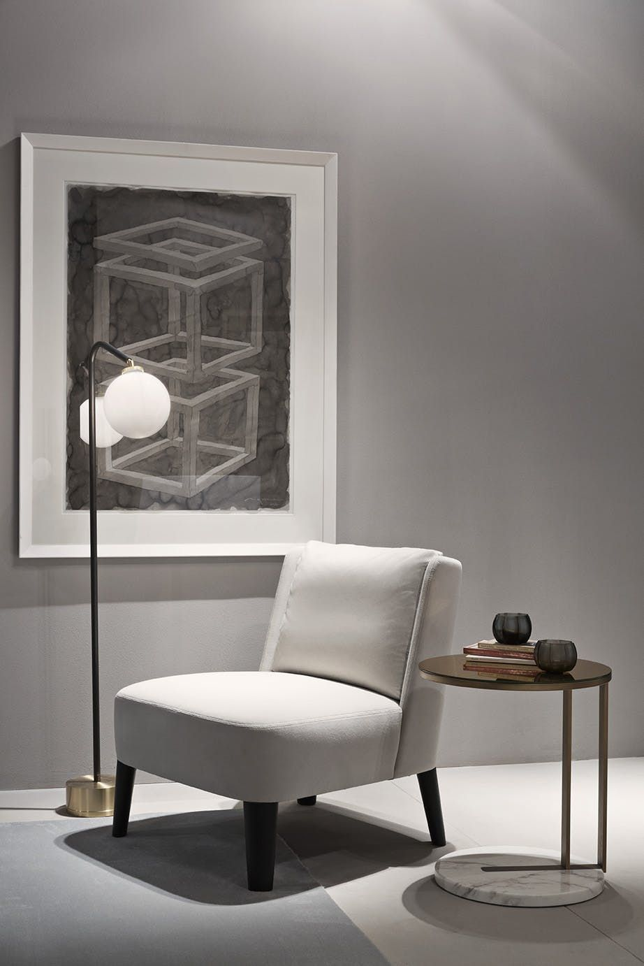 Cecile Contemporary Armchairs Club Chairs Dering Hall