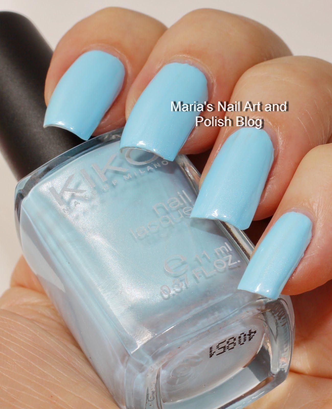 Kiko 525 Metallic Pastel Blue
