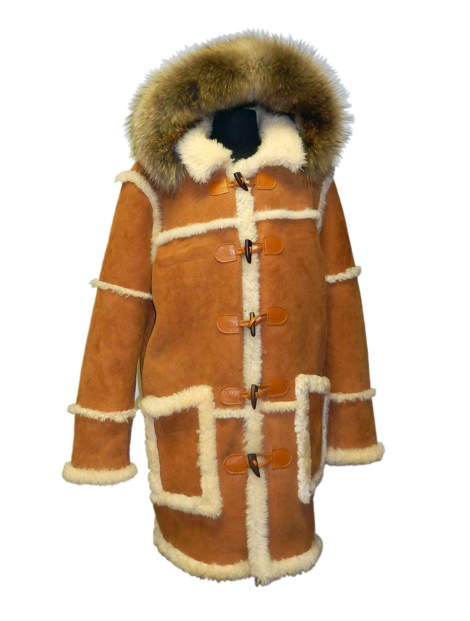 Open Stitch Sheepskin Coat | Sheepskin coats | Pinterest ...