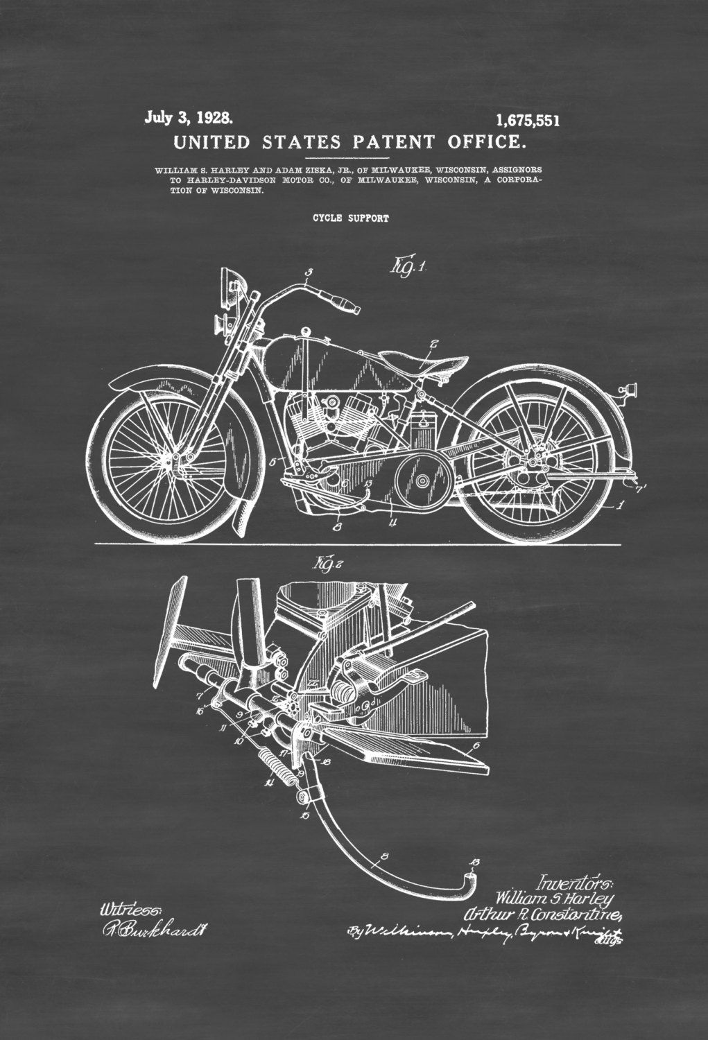 9c0a3f86 New to PatentsAsPrints on Etsy: Harley Davidson Patent - Patent Print Wall  Decor Motorcycle Decor Harley Davidson Art Harley Patent Harley Bike (4.99  USD)