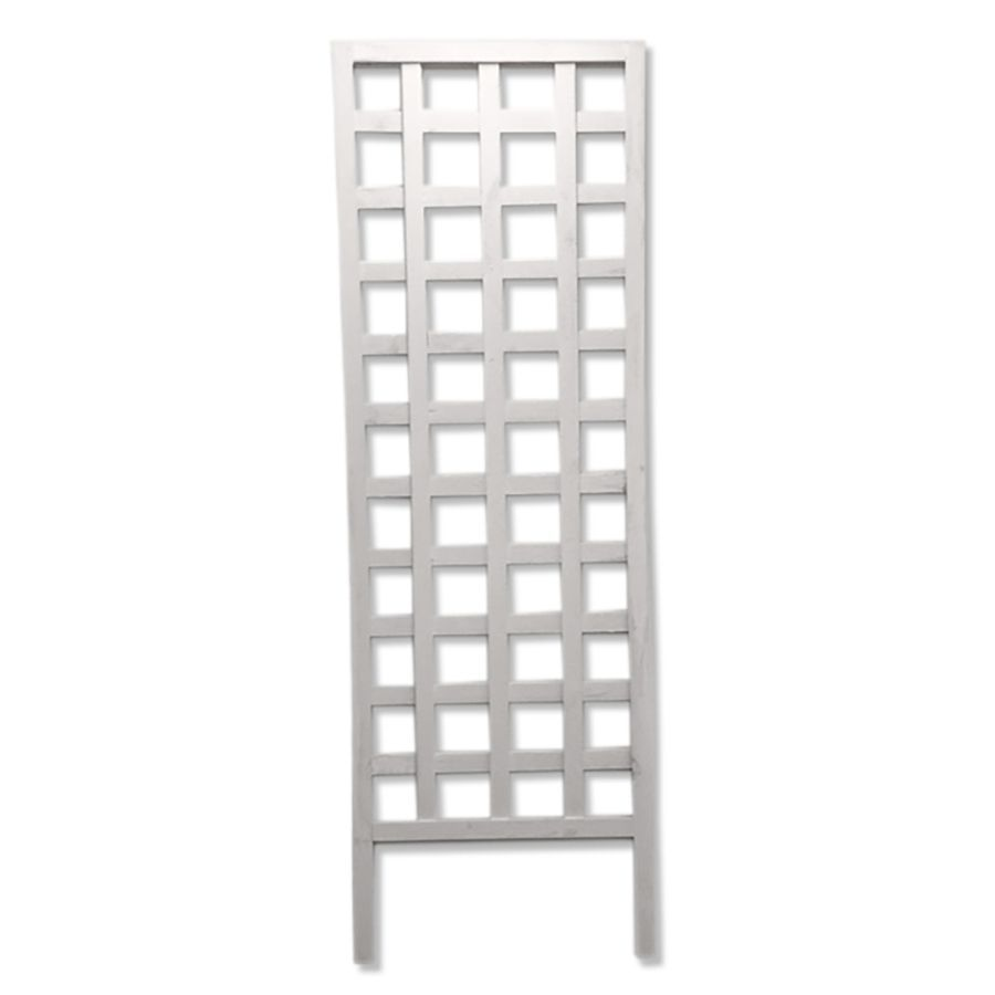 24-in W x 72-in H White Garden Trellis Painted Wood Lowes $25 | Hot ...
