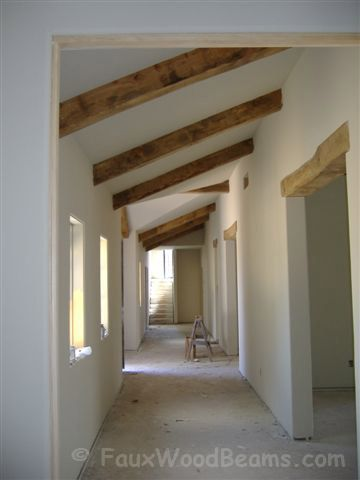 Box Beam Design | Pictures and Ideas with Real Wood Box Beams
