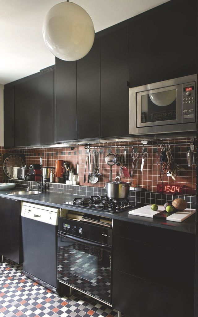 Paris  l\u0027appartement d\u0027une architecte d\u0027intérieur Pinterest - logiciel plan maison 3d gratuit