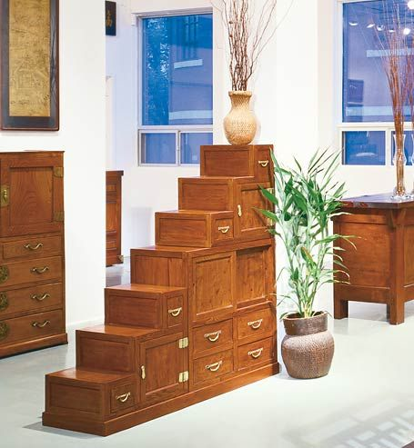 Wonderful Greentea Design Elm Burl Step Chest Pictures As A Room Divider. The Step  Chest Is Fully Finished On Both Sides