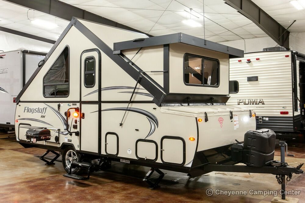 2019 Forest River Flagstaff T21tbhw A Frame High Wall Pop Up A