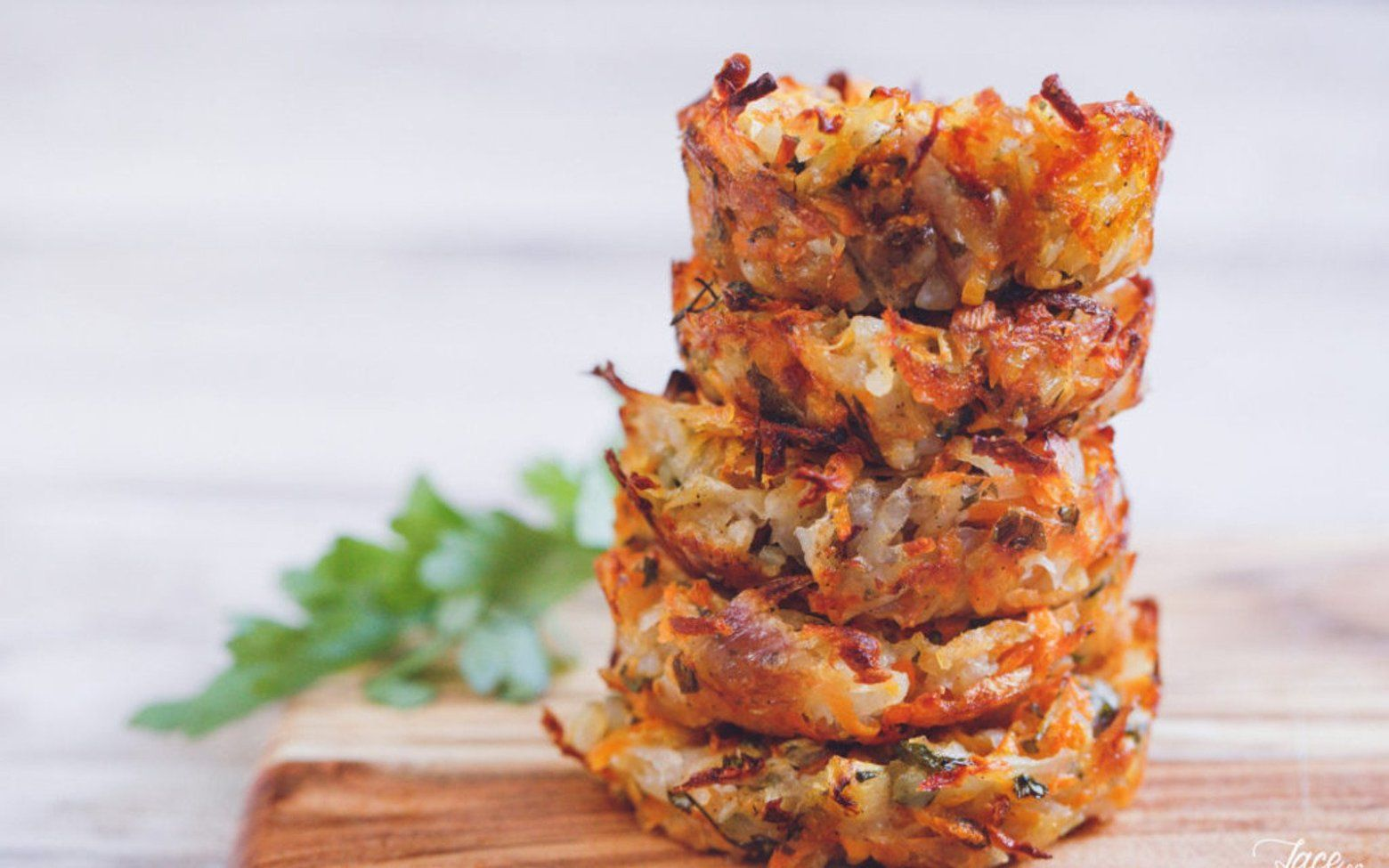Baked Hash Browns [Vegan, GlutenFree] Baked hashbrowns