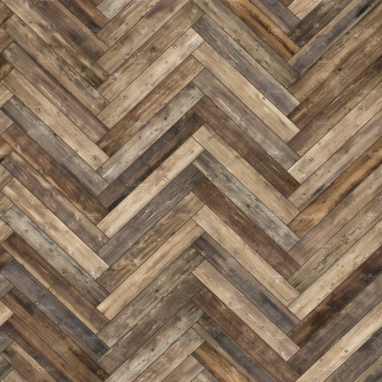 Seamless Wood Parquet Texture Herringbone Old Parquet Texture Wood Parquet Herringbone Wood
