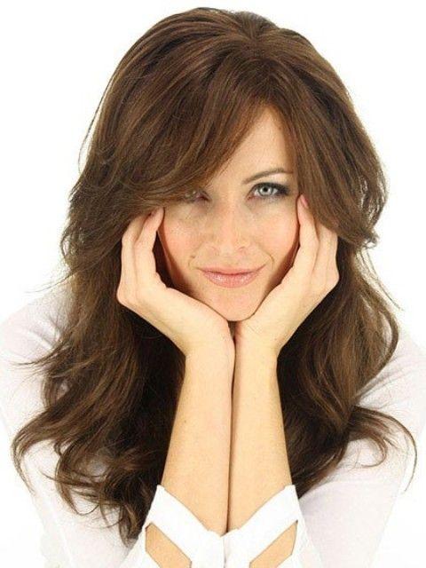 Photo of 15 auffällige lange Frisuren für runde Gesichter – beinhaltet WIGS – Frisuren Modelle