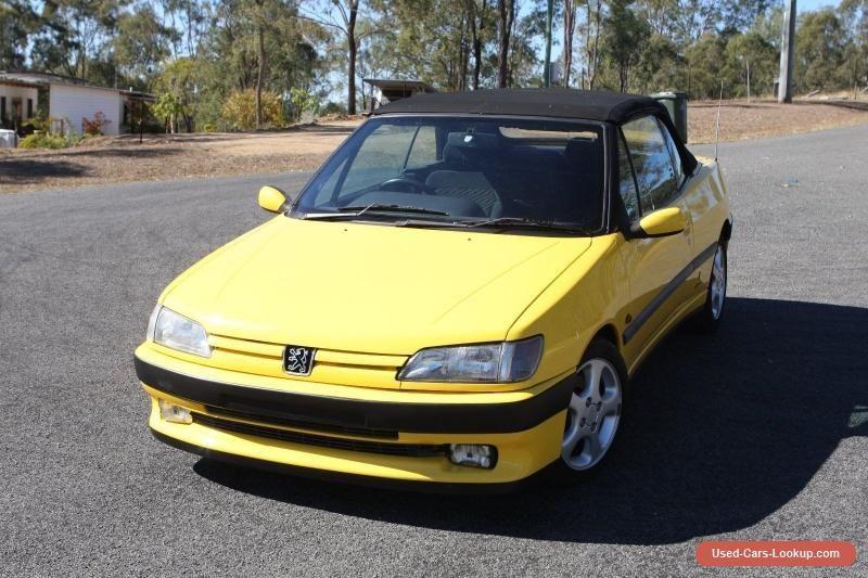 Peugeot 306 Convertible Auto #peugeot #306 #forsale #australia ...