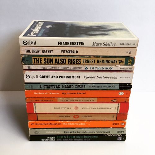 Image result for stack of  classics