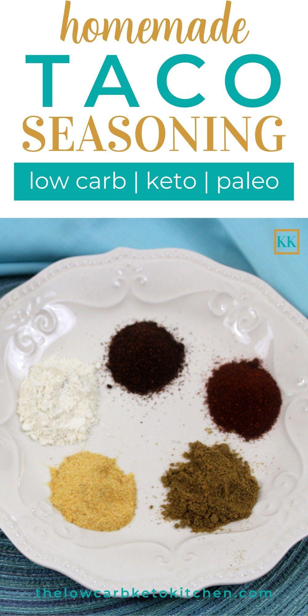 Keto friendly taco seasoning mix recipe keto taco