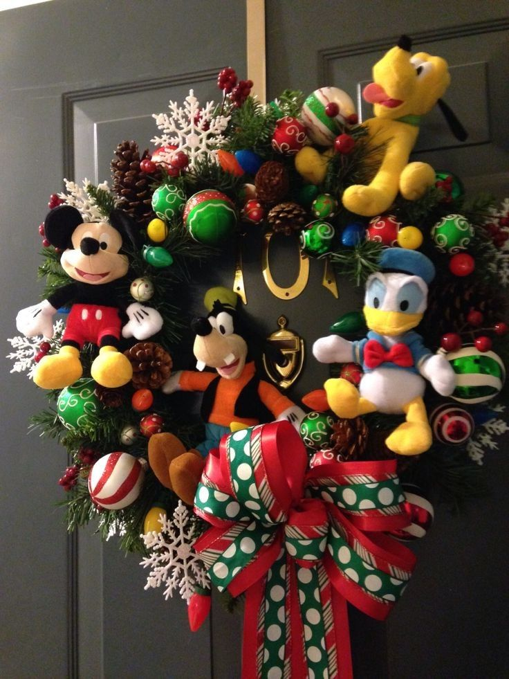 Diy Disney Christmas Decorations Christmas Home