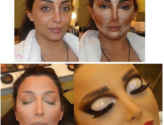Makeup Contouring Tricks