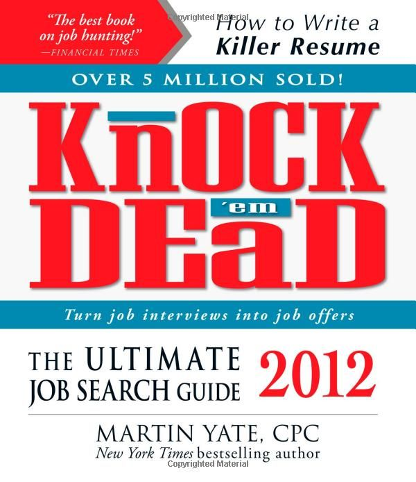 Perhaps youu0027ve been laid off and are wondering where your next - knock em dead resumes