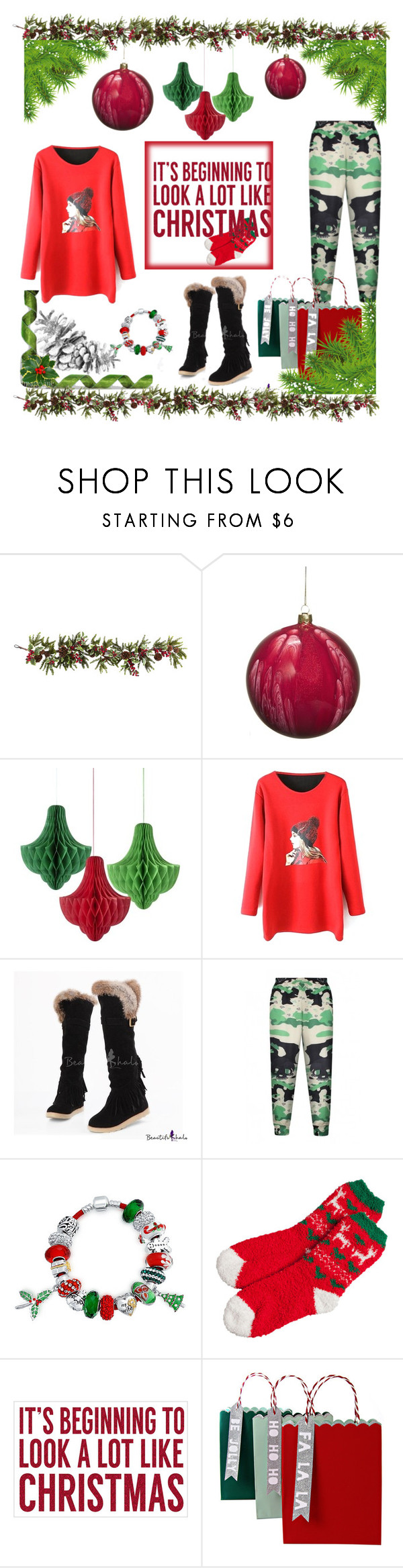 """""""beautifulhalo#31"""" by e-mina-87 ❤ liked on Polyvore featuring Nearly Natural, Jim Marvin, Bling Jewelry, Sixtrees, Meri Meri and bhalo"""