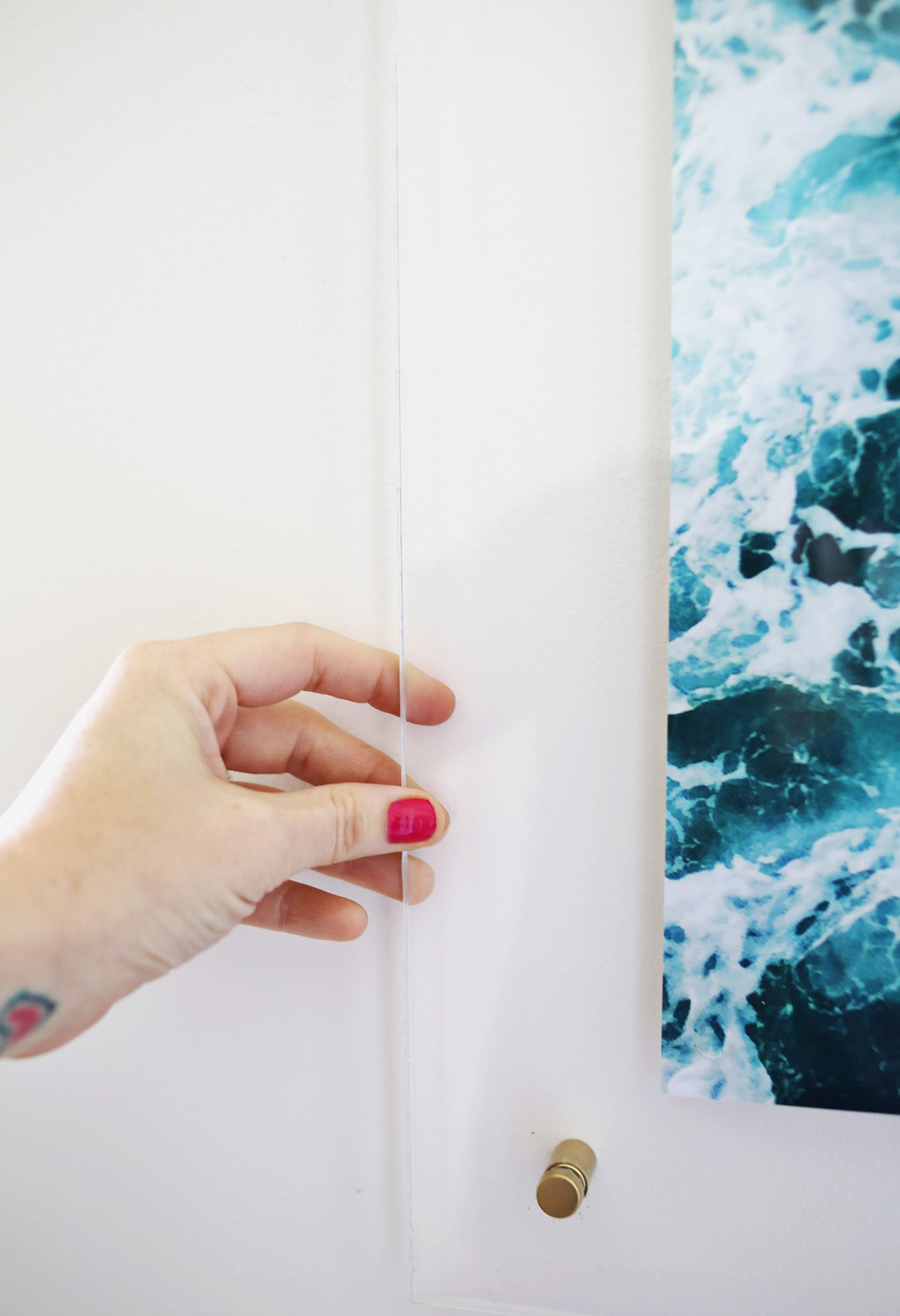 Floating Acrylic Frame DIY | Crafts | Pinterest | Acrylic frames ...