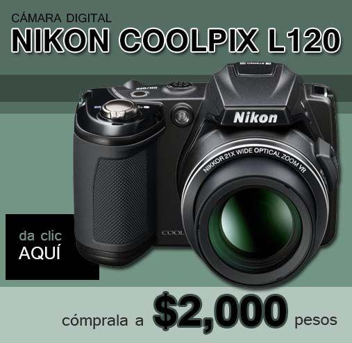 c mara digital nikon coolpix l120 a 2 000 pesos nikon digital rh pinterest com Nikon Coolpix S200 Nikon Coolpix P90