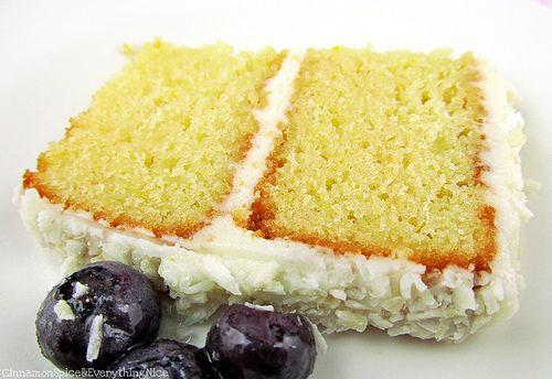 Recipes Lemon Layer Cake: Lemon Layer Cake With Lemon Cream Cheese Frosting