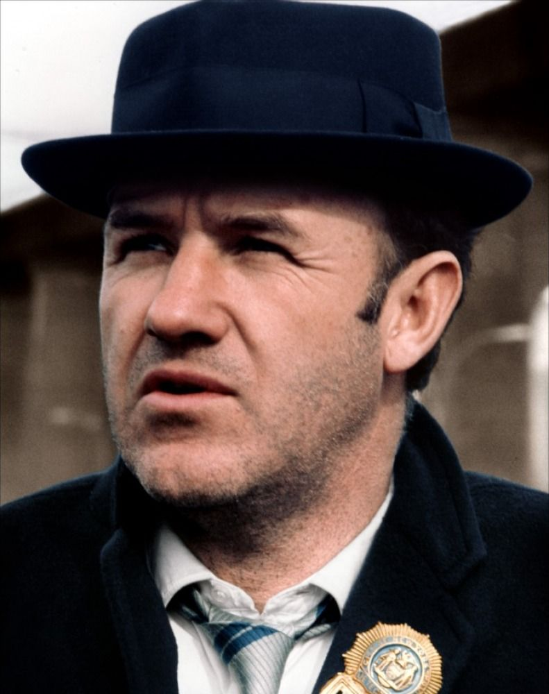 GENE HACKMAN THE FRENCH CONNECTION DIEULOIS