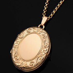 Four Photo Engravable Locket