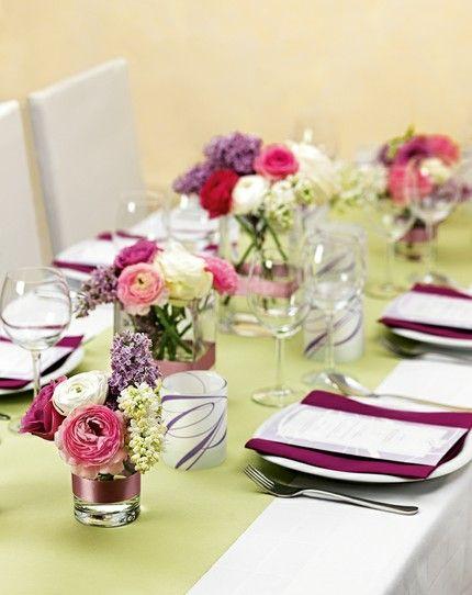 Tischdeko Modern edel und modern tafel tischdekorationen und die feier