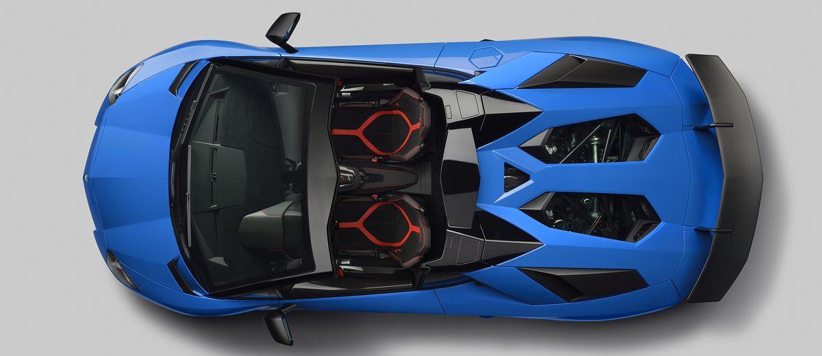 Lamborghini Unveils The Aventador LP 750-4 Superveloce Roadster