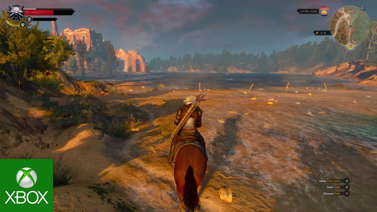 The Witcher 3 Wild Hunt Xbox One Gameplay Trailer Xbox One
