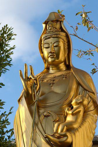 Jibo Kannon near Fushimi Inari in 2019 | Buddhism | Japanese goddess