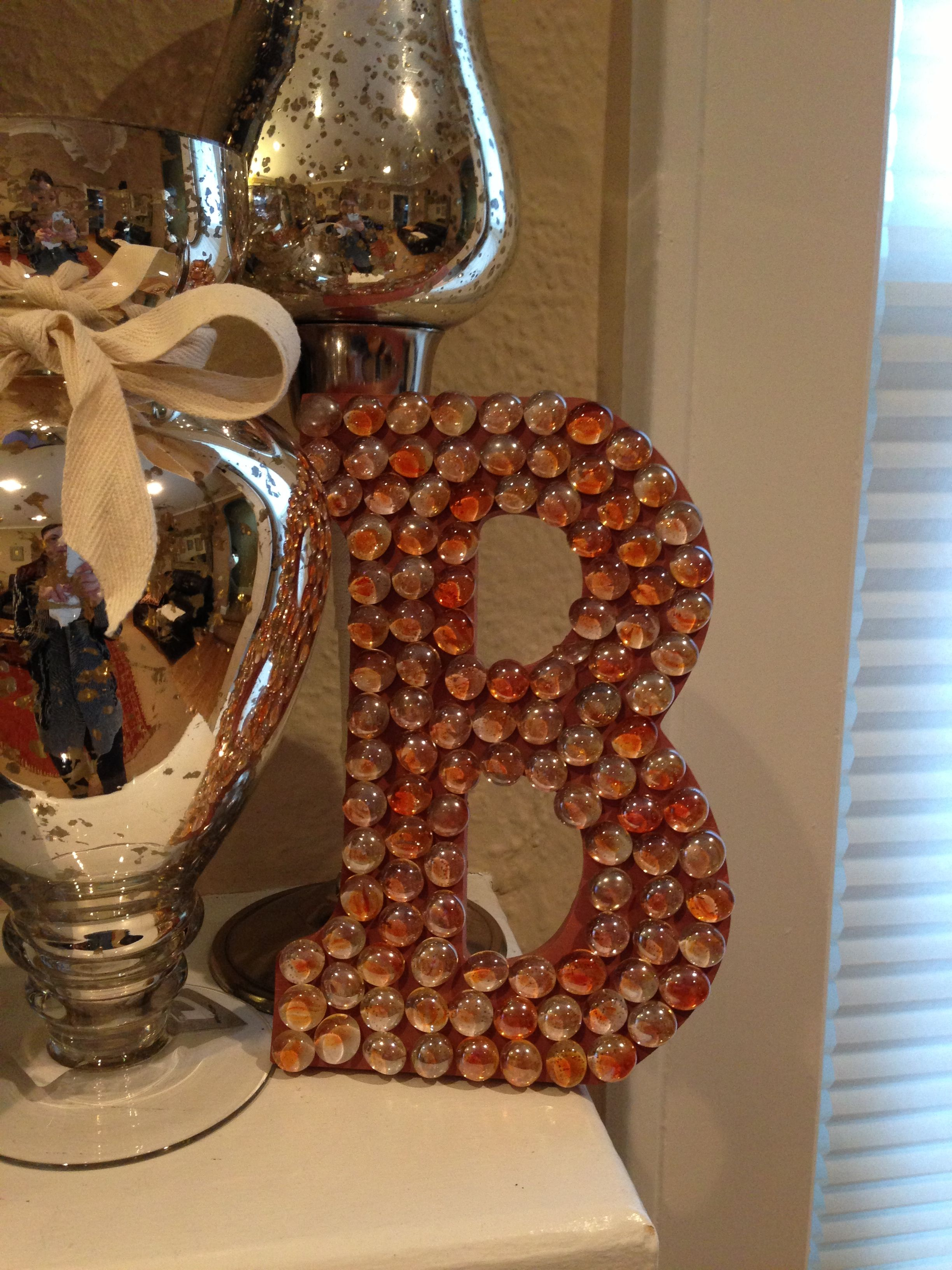 Glass bead initial