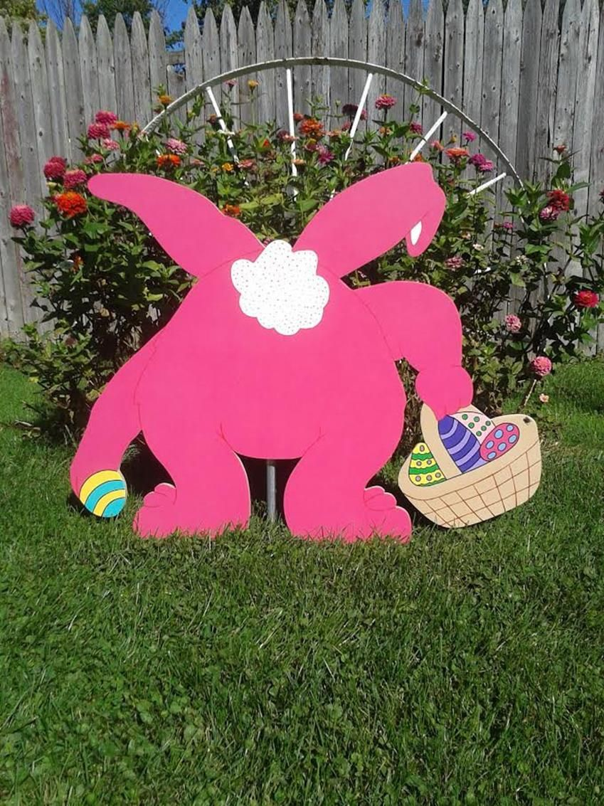 37 Diy Wooden Easter Decorations For The Outside Easter Decorations Outdoor Easter Yard Decorations Wooden Easter Decorations