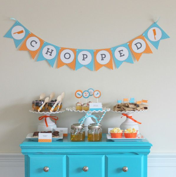 Tween Party Ideas -- Chopped Party
