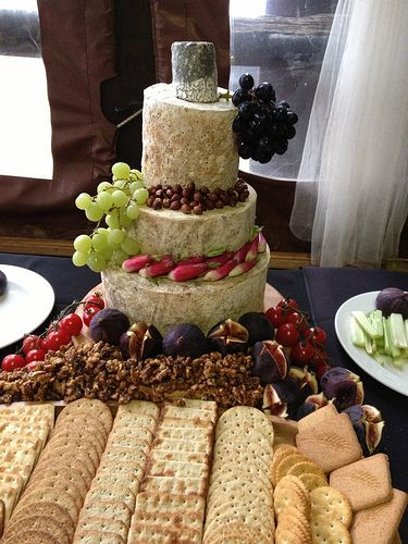 cheese wedding cake edinburgh 514 227 cheese tower catering and catering events 12594