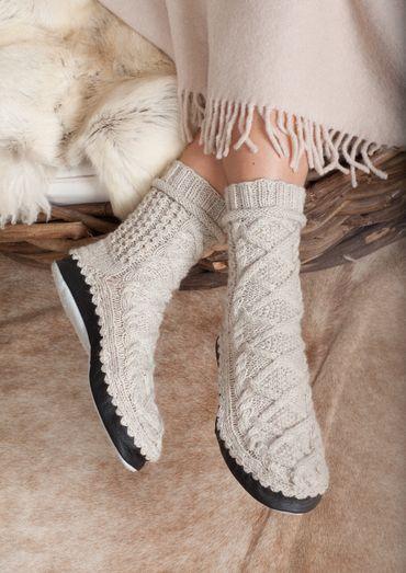 Damen Hüttenschuhe Kalte Füße Gehören Der Vergangenheit An Denn