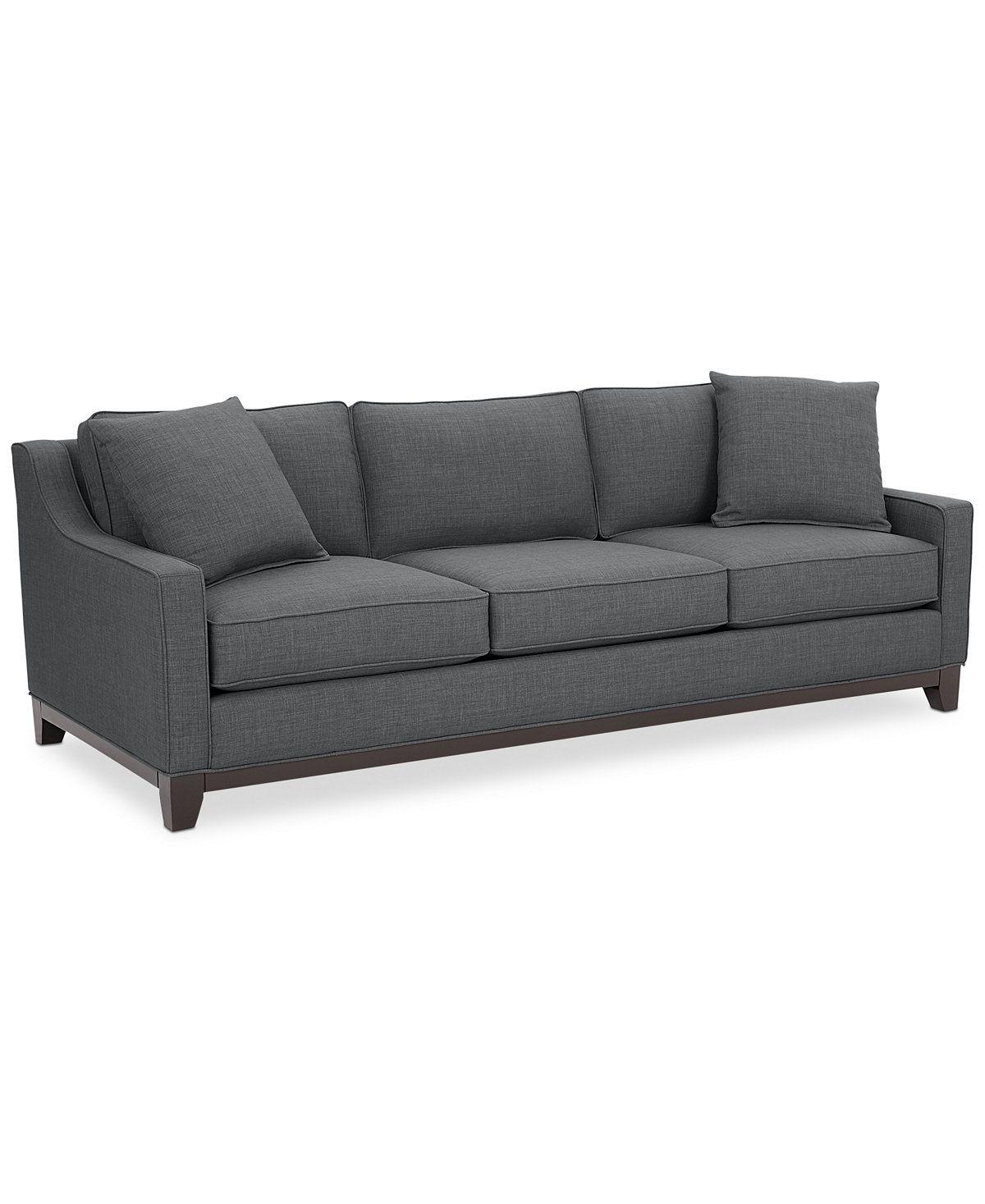 Furniture Keegan 90 Fabric Sofa Created For Macy S Reviews
