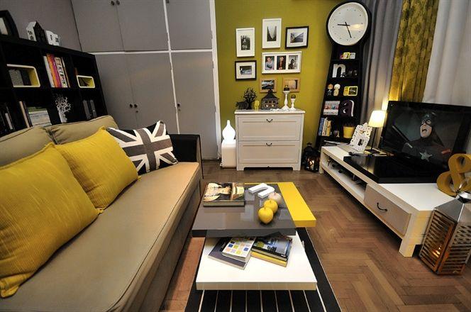 Ruang Tamu Kuning Keemasan Idea Pengguna Ikea Di Greece Ekspresiruang