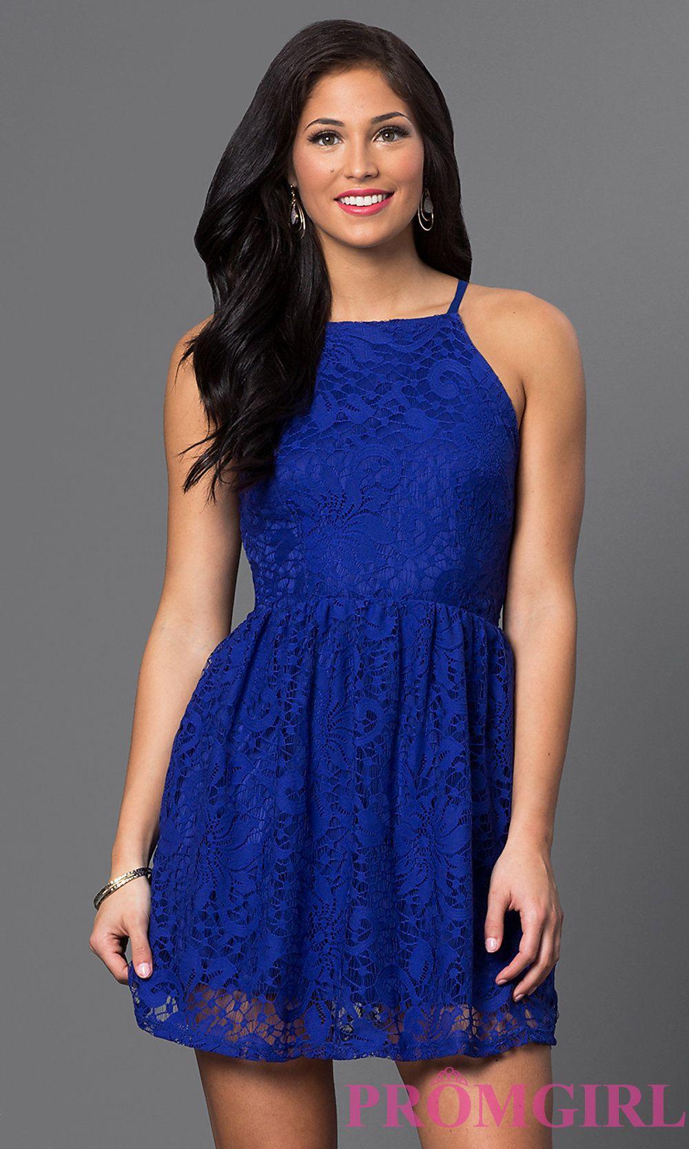 Short lace spaghetti strap dress fashion pinterest dresses