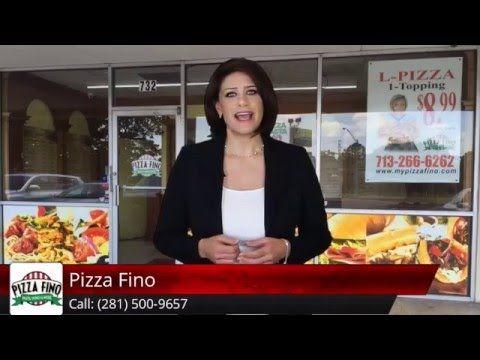 """Pizza Fino is the best pizza in Houston. http://www.mypizzafino.com Here's a genuine review from one of our happy clients: """" Best pizza in Houston. I'm from ..."""