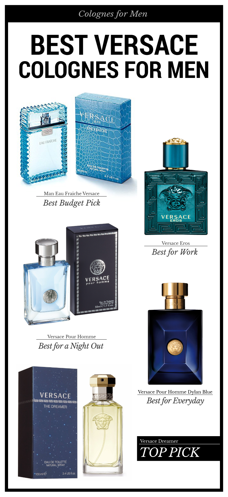 a7660d3ac1d36 Our top 5 picks of Versace cologne for men. Perfect for casual