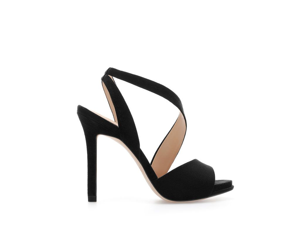 06552f3bc6d Image 1 of HIGH HEEL STRAPPY SANDALS from Zara