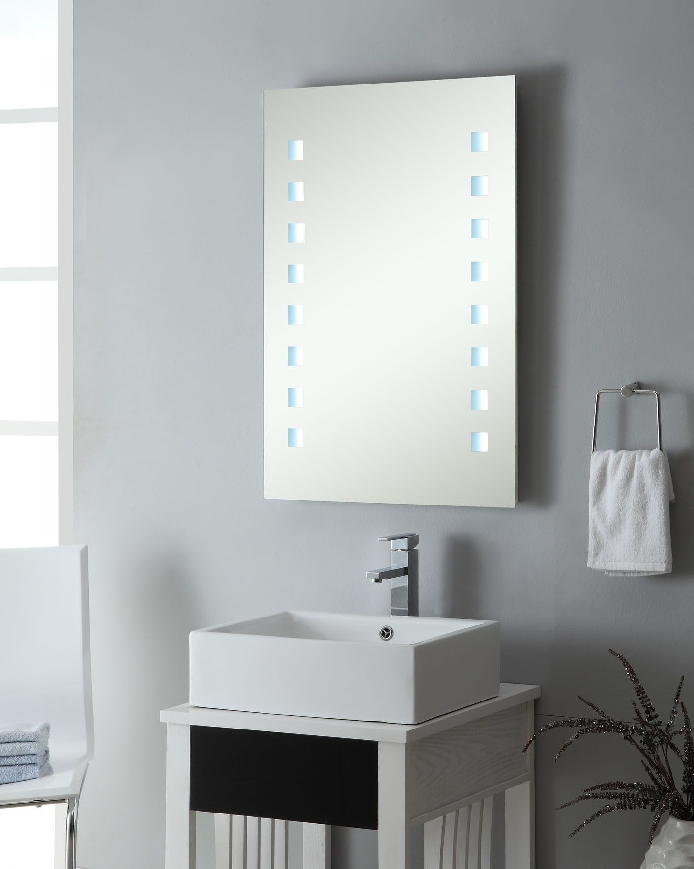 Modern Commercial Bathroom Mirrors