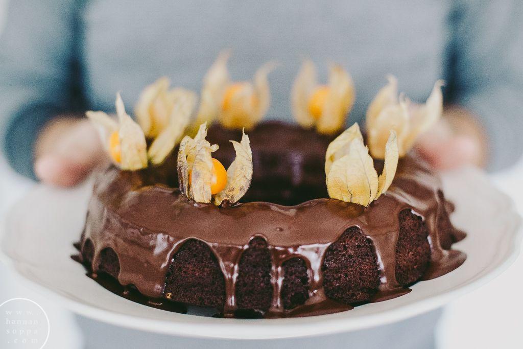 gluteeniton suklaa-banaanikakku / Hannan soppa