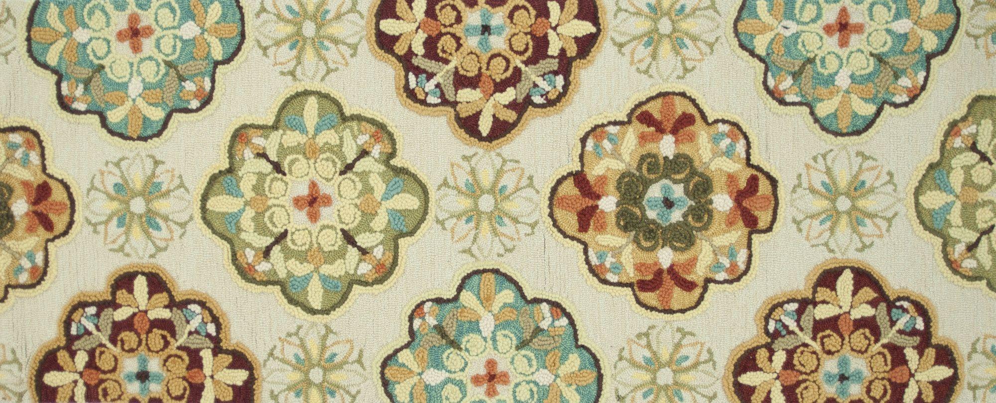 Olivia Hand-Woven Ivory/Sage Area Rug